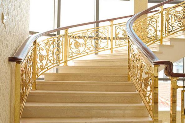 赞皇石家庄铝艺楼梯